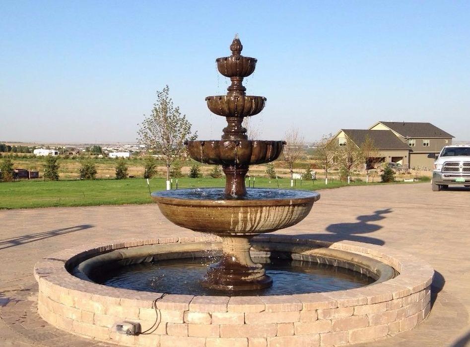 Driveway fountain