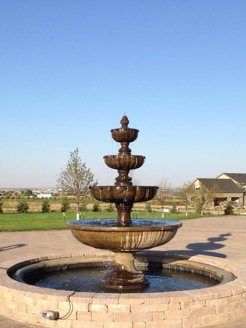 Fountains and Water Features.