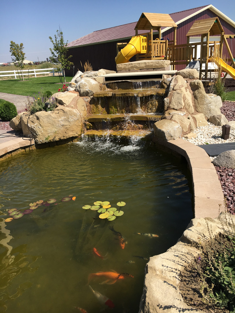 An example of a custom made water feature in our sister company of ND.