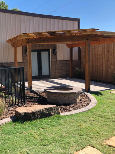 Pergolas, Firepits, and More!