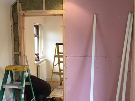 Construction of a therapy studio