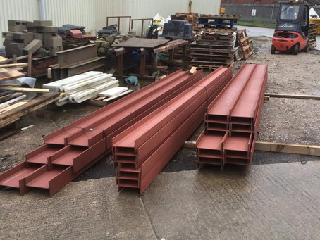 Stock of Steel in Burscough
