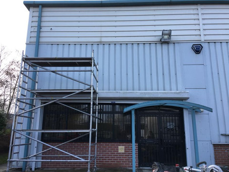 New Windows & Shutters fitted at Knowsley Industrial Park