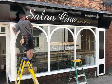 SIGN SalonOne Ormskirk