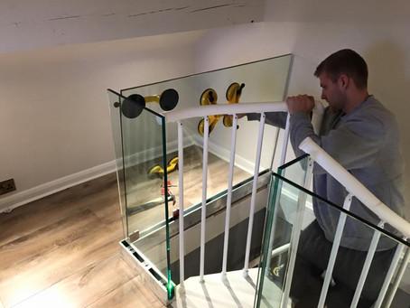 Spiral Staircase Installation by JDC