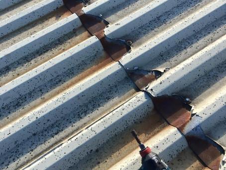 Roof Repair on Industrial Building
