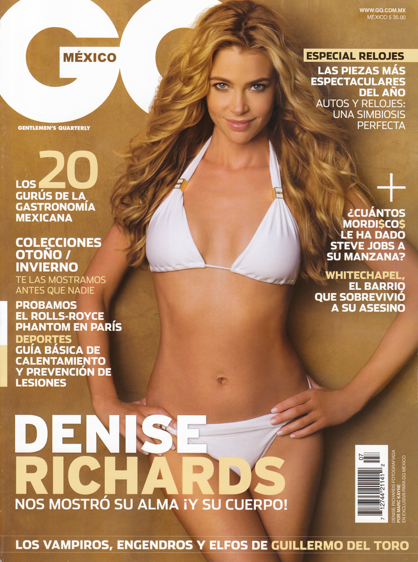 5-GQ cover Denise Richards
