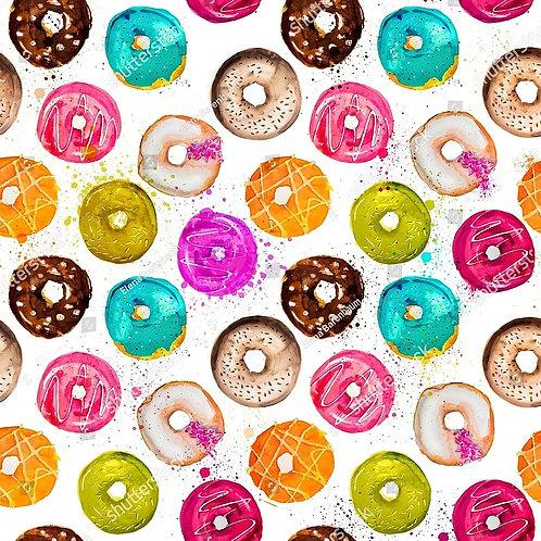 Муслиновая пеленка Пончики