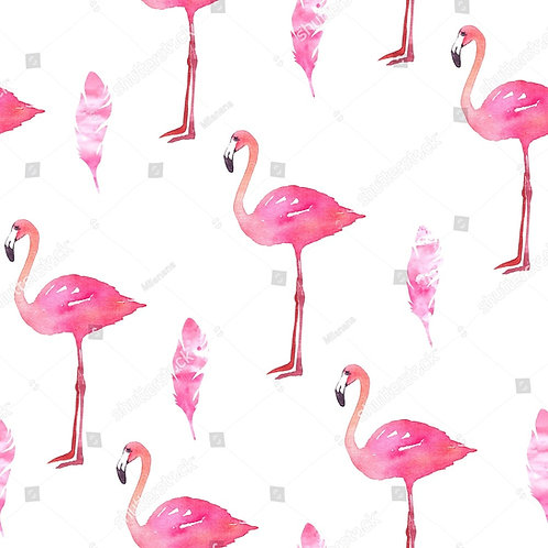 Муслиновая пеленка из 100% бамбука Фламинго/перо
