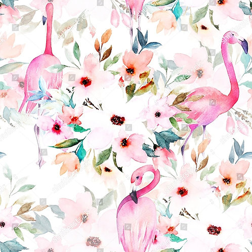 Муслиновая пеленка Фламинго