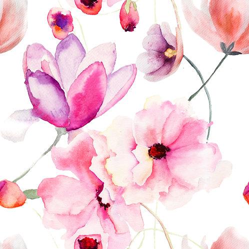 Муслиновая пелена Полевые цветы