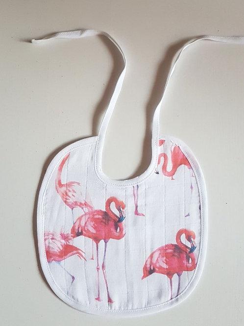 Слюнявчик Фламинго