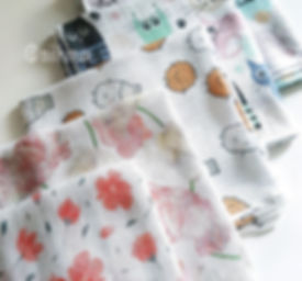 Сеты, готовые наборы муслиновых пеленок MilkiMax