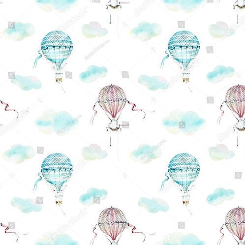 Муслиновая пеленка из бамбука Воздушные шары