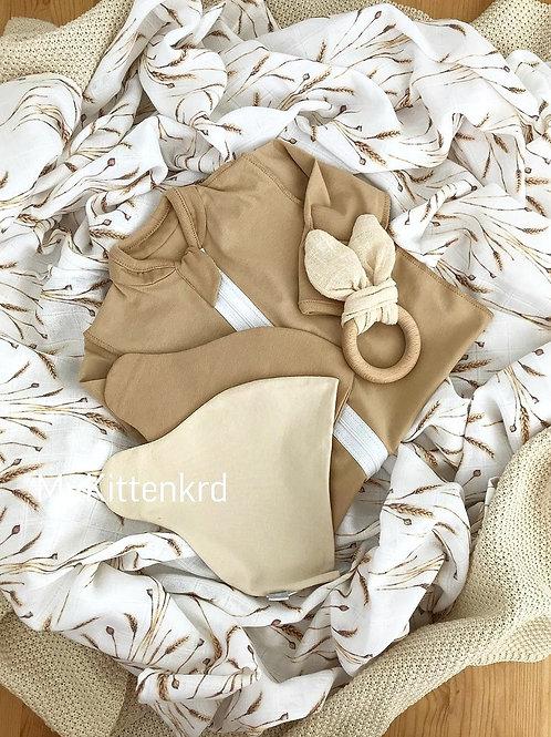 Муслиновая пеленка из бамбука Колоски