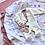 Thumbnail: Муслиновая пеленка из 100% бамбука Розы Акварель