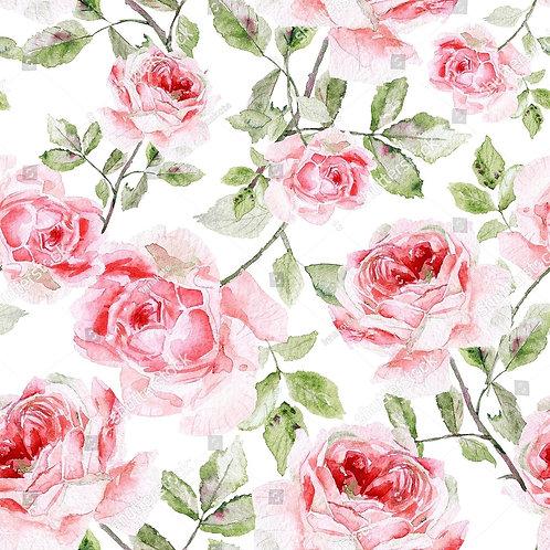 Муслиновая пеленка из бамбука Розы