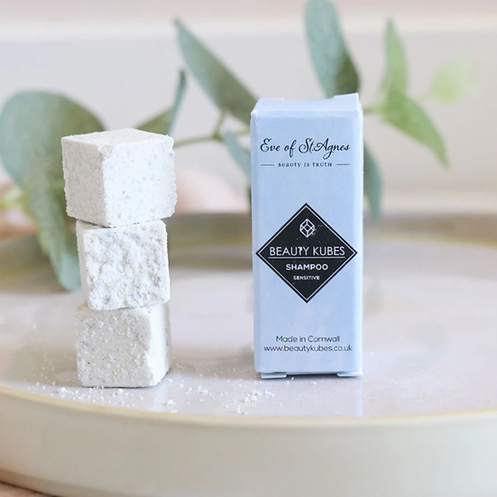 Beauty Kubes Shampoo - Sensitive Skin - x3 Sample Pack