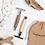 Thumbnail: Reusable Safety Razor - Chrome Silver - Shoreline Shaving