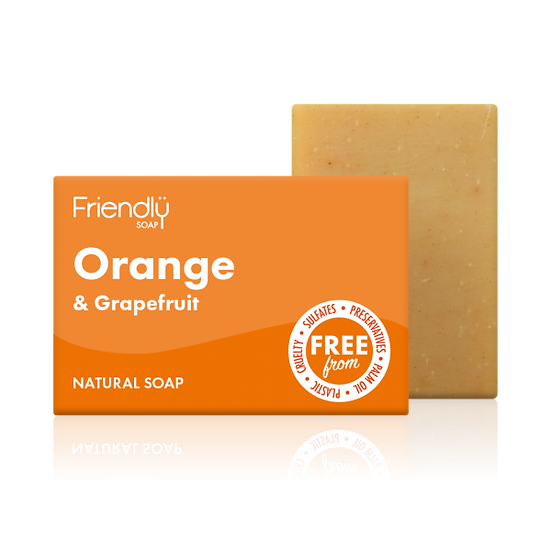 Orange and Grapefruit Soap - Friendly Soap