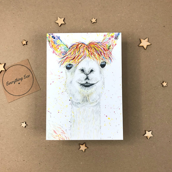 Lilly the Lama - Card