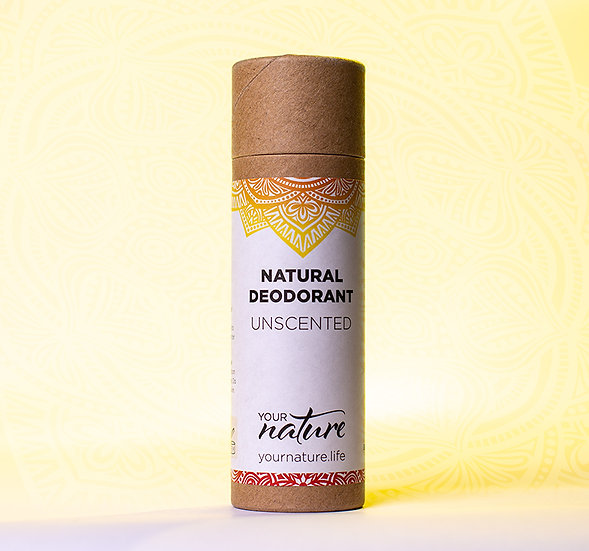 Natural Deodorant Stick - Unscented