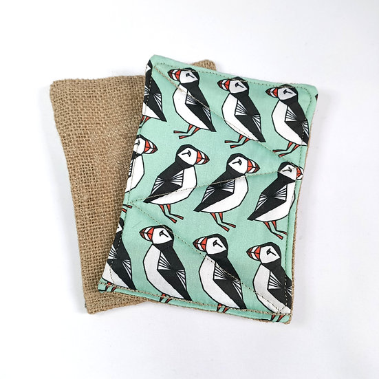 Scrubbies Washing Up Pads - Puffins - 2 Pack