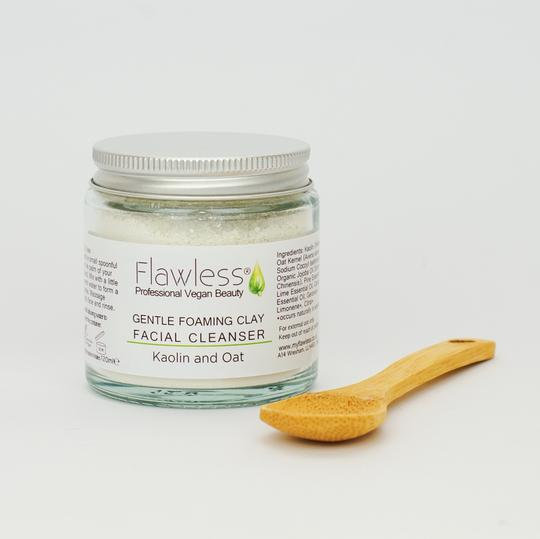 Gentle Foaming Clay Facial Cleanser- 120ml - Flawless