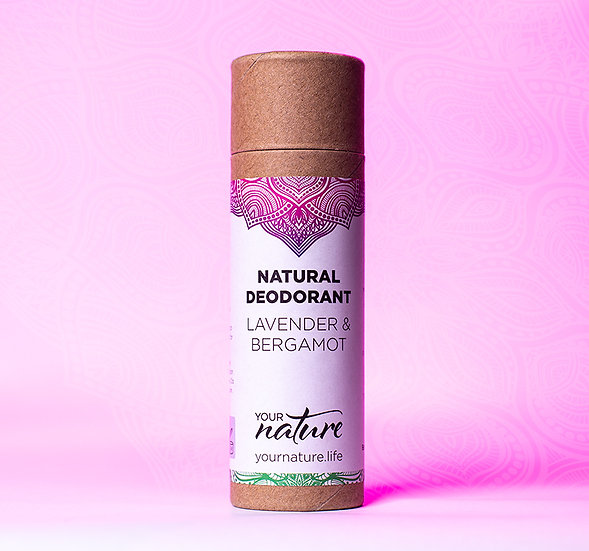 Natural Deodorant Stick - Lavender & Bergamot
