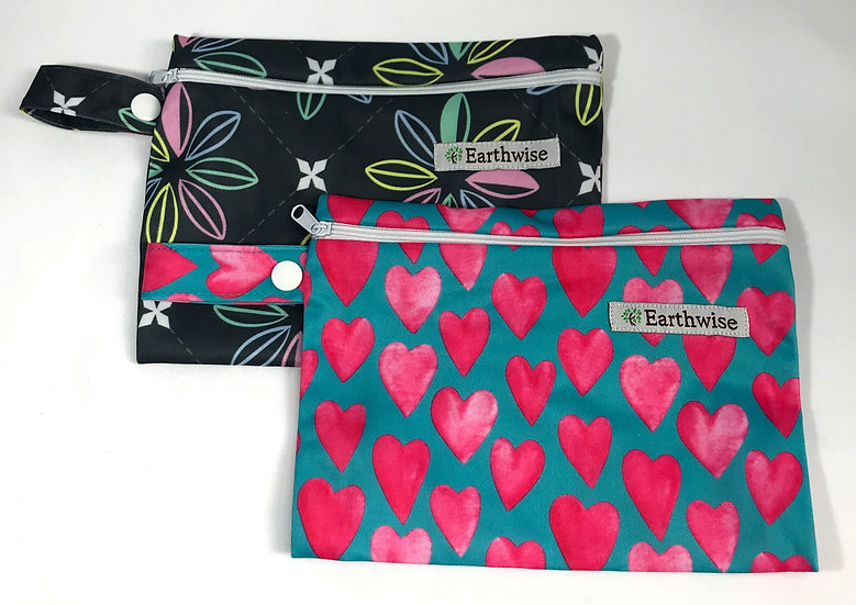 Zip Up Pad Bag - Earth Wise Girls