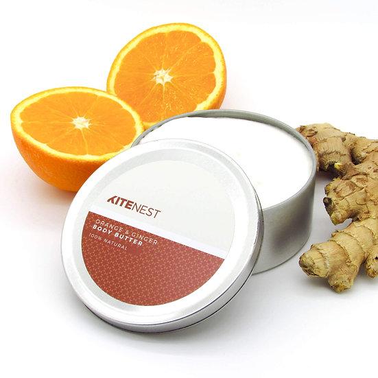 Body Butter -  Orange & Ginger 240ml - Kite Nest