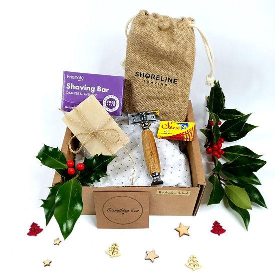 Gift Set  - Bamboo Razor & Shaving Soap