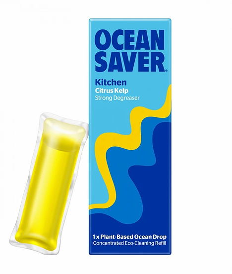 Kitchen Cleaner & Degreaser Cleaner Drops (Citrus Kelp) - Ocean Saver