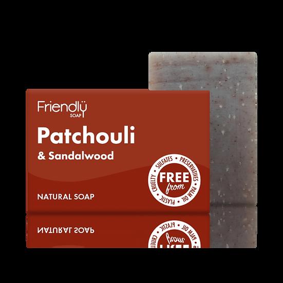 Patchouli and Sandalwood Soap - Friendly Soap