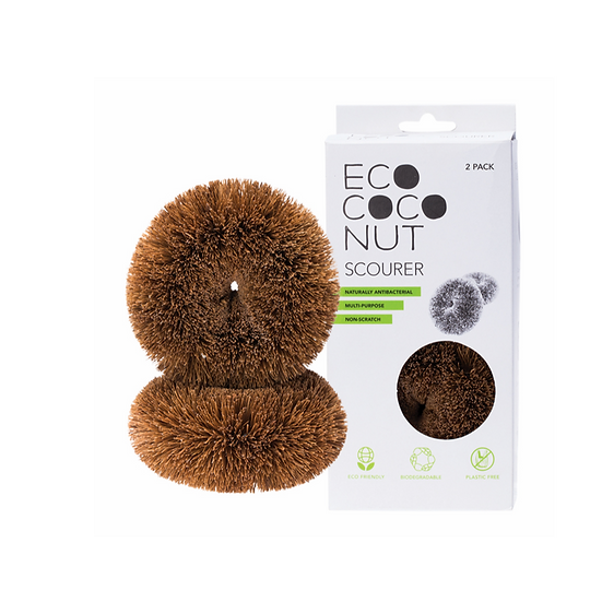 Eco Coconut Scourer Twin Pack - Eco Cocount