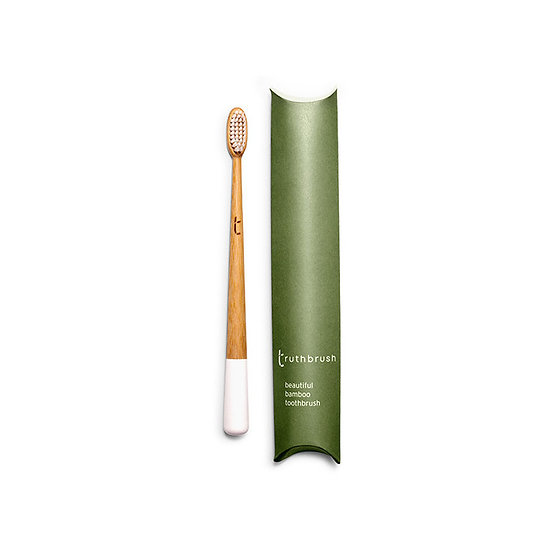 Bamboo Tooth Brush - Cloud White - Truthbrush