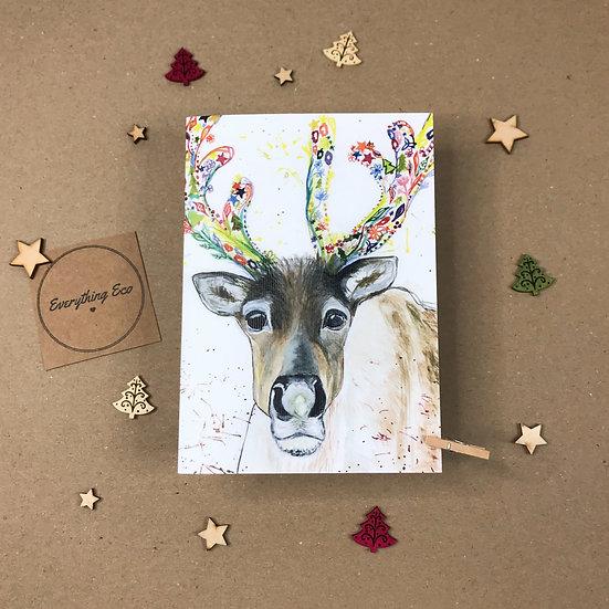 Rupert the Reindeer - Christmas Card