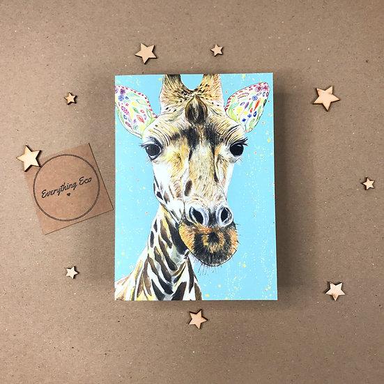 Georgie The Giraffe - Card
