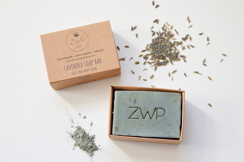 Lavender Soap Bar - Zero Waste Path