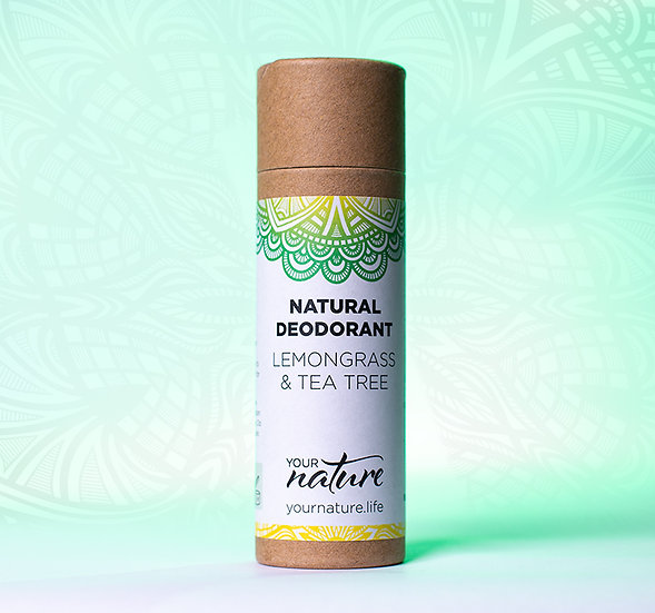 Natural Deodorant Stick - Lemon Grass & Tea Tree
