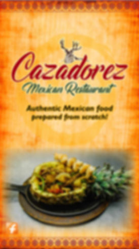 Cazadorex mexican restaurant, Seminole Oklahoma
