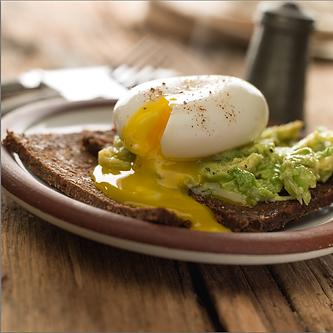 Poached Egg and Avocado