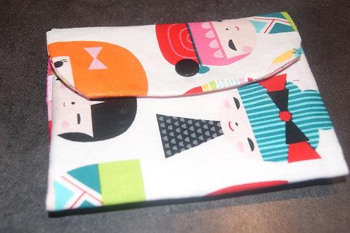 Pochette à barettes et chouchous version japonnaise