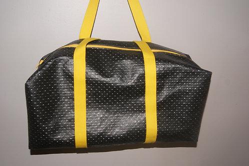 sac de sport noir et jaune