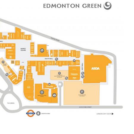 Edmonton Green Shopping Centre, London