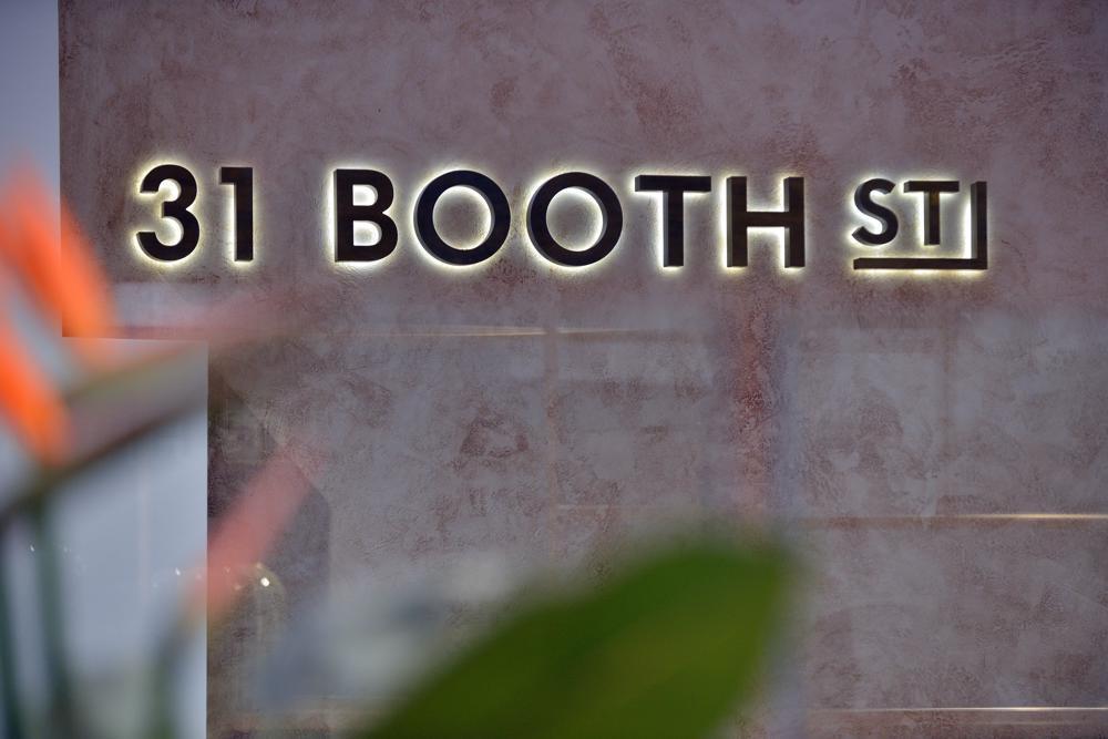 31 Booth Street - Reception