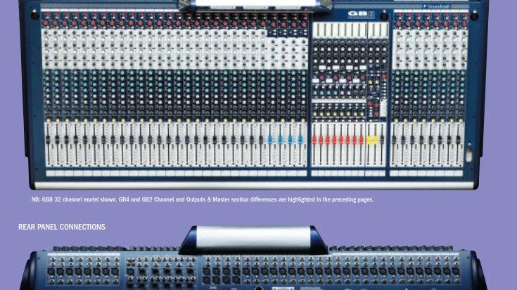 Soundcraft GB8-32  **Verkocht**