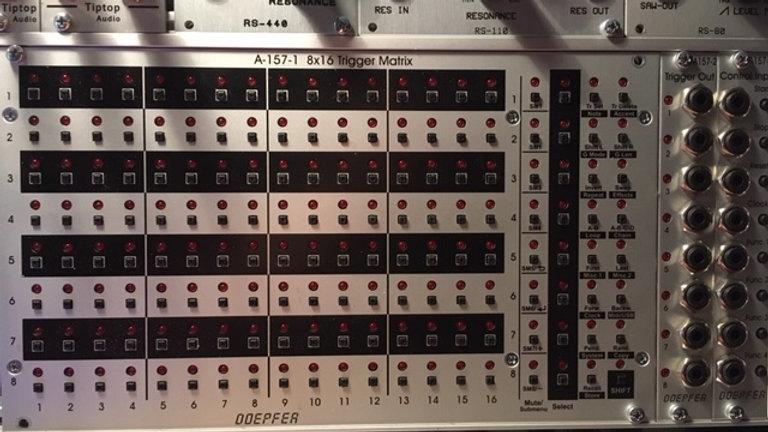 Doepfer A-157-1-2-3 Set 8x16 Trigger Matrix