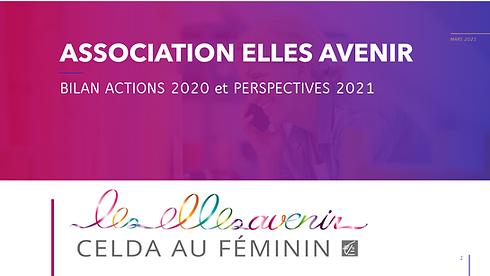 Capture Bilan 2020 et Perspectives 2021.