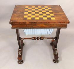 Regency Games Table